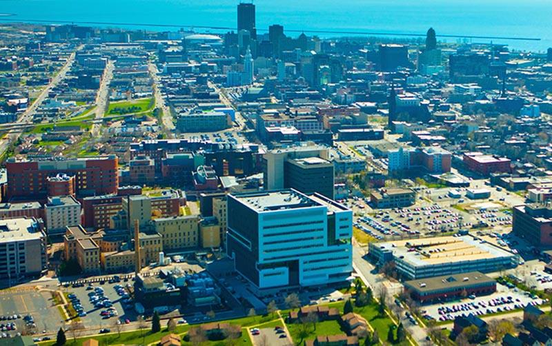 Medical School campus in downtown Buffalo