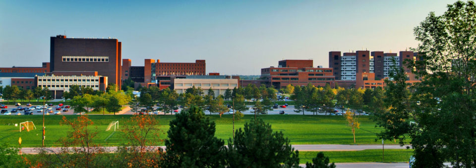 Panoramic view of UB North Campus